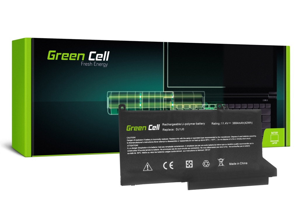 Baterija Green Cell DJ1J0 za Dell Latitude 7280 7290 7380 7390 7480 7490