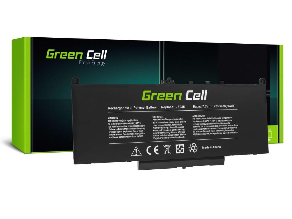 Baterija Green Cell J60J5 za Dell Latitude E7270 E7470 5800mAh