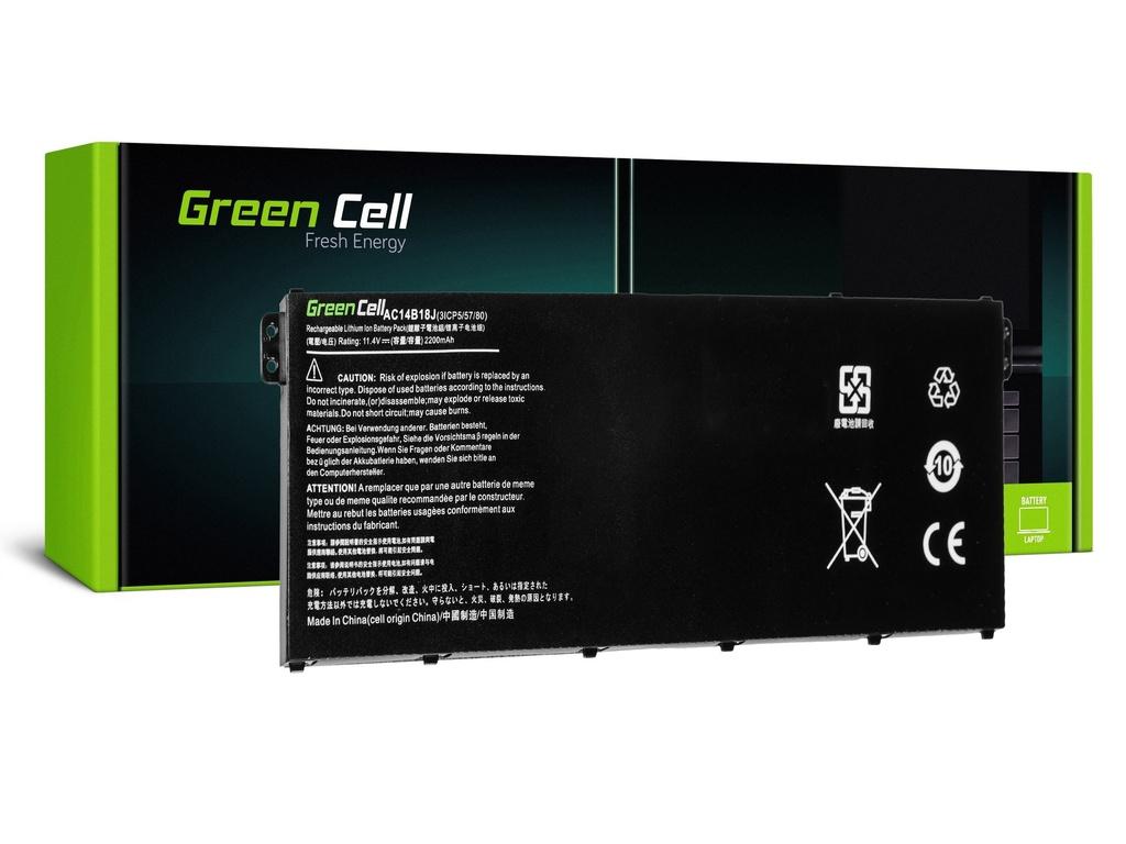 Baterija Green Cell za Acer Aspire E 11 ES1-111M ES1-131 E 15 ES1-512 / 11,4V 2100mAh