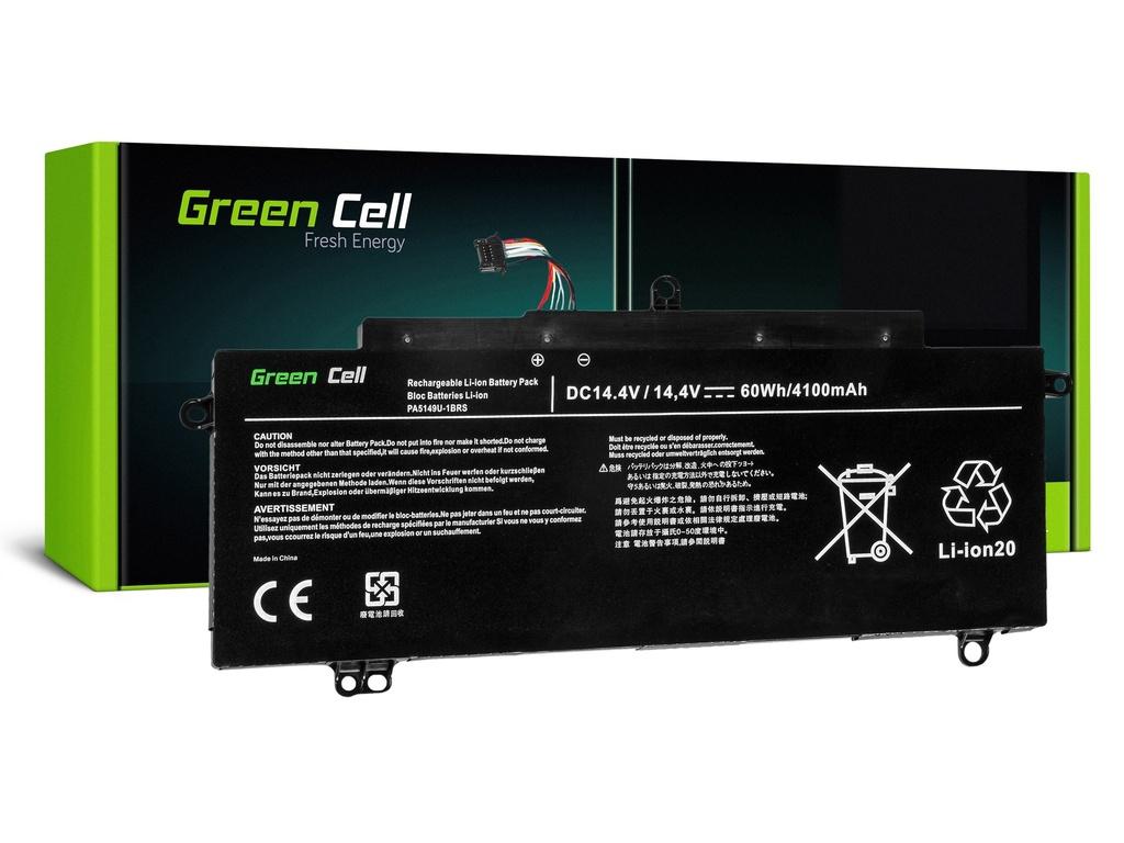 Baterija Green Cell za Toshiba Tecra Z40 Z40-A-13Q Z40-A-167 Z50 Z50-A-15P Z50-A-16C / 14,4V 3400mAh