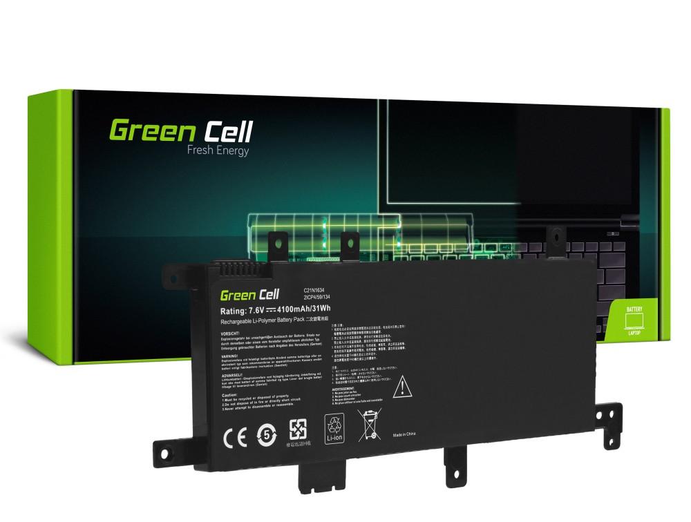 Baterija Green Cell C21N1634 za Asus F542 F542U F542UQ VivoBook 15 R542 R542U R542UA R542UF R542UQ X542 X542U X542UA X542UF