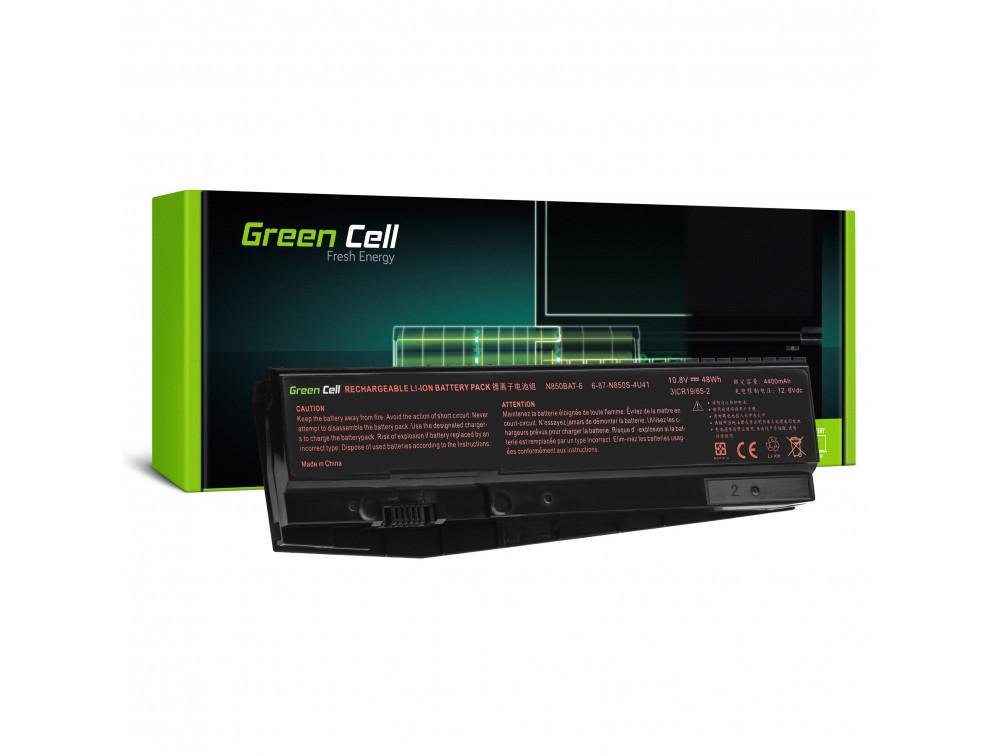Baterija Green Cell N850BAT-6 za Clevo N850 N855 N857 N870 N871 N875, Hyperbook N85 N85S N87 N87S