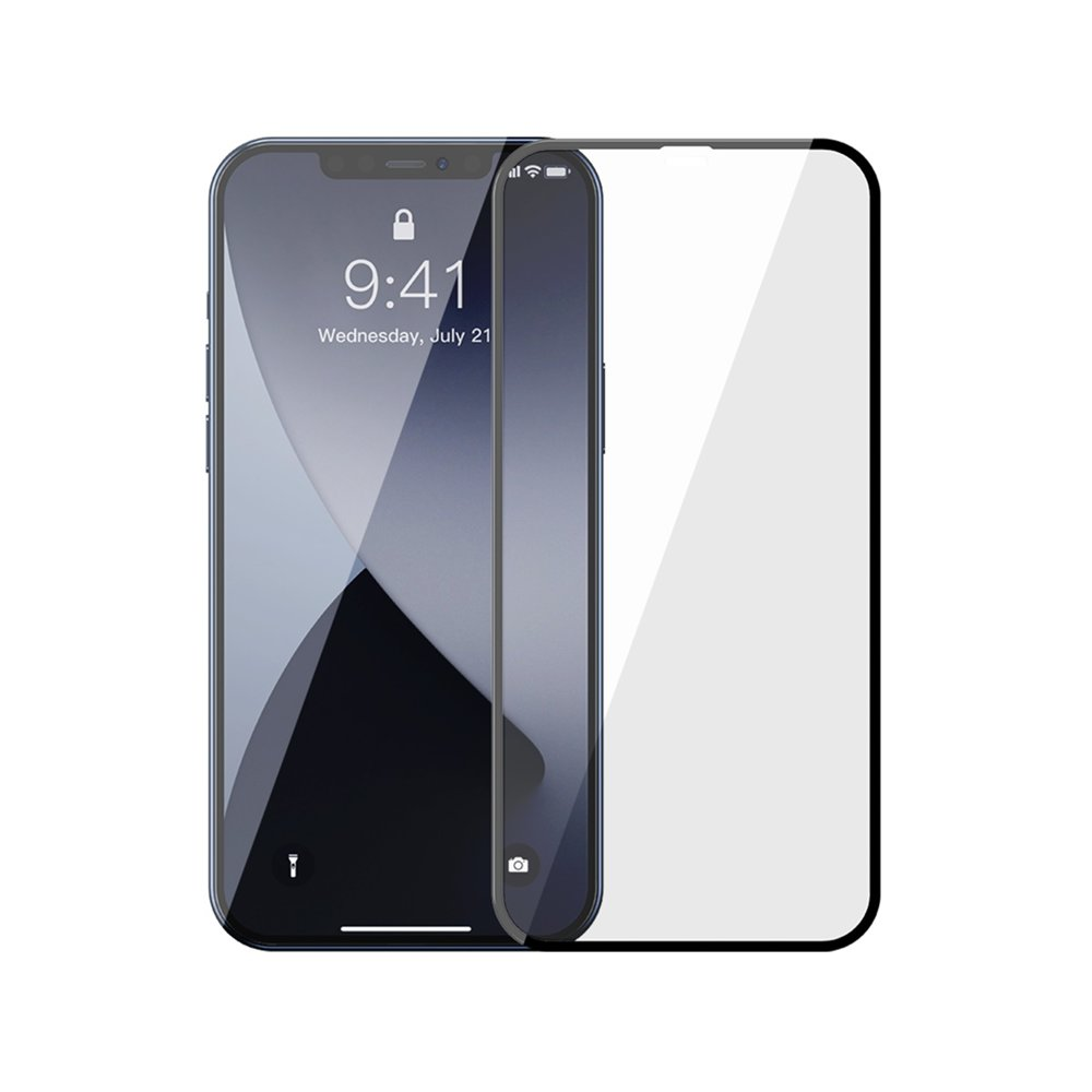 Baseus zaštitno staklo za iPhone 12 Pro / iPhone 12 2x kom. 0,3mm