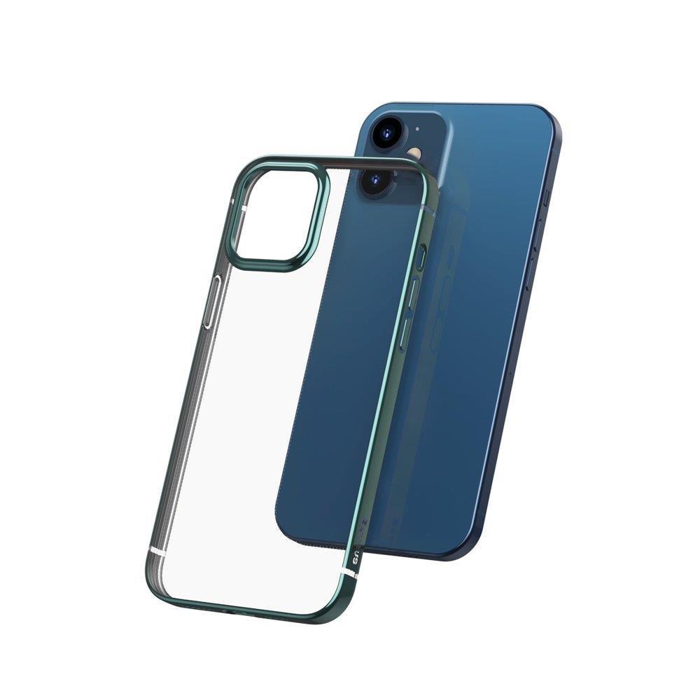 Baseus Shining futrola za iPhone 12 Pro / iPhone 12 zelena