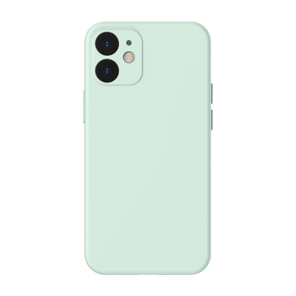 Baseus Liquid Silica Gel futrola za iPhone 12 Pro / iPhone 12 mint