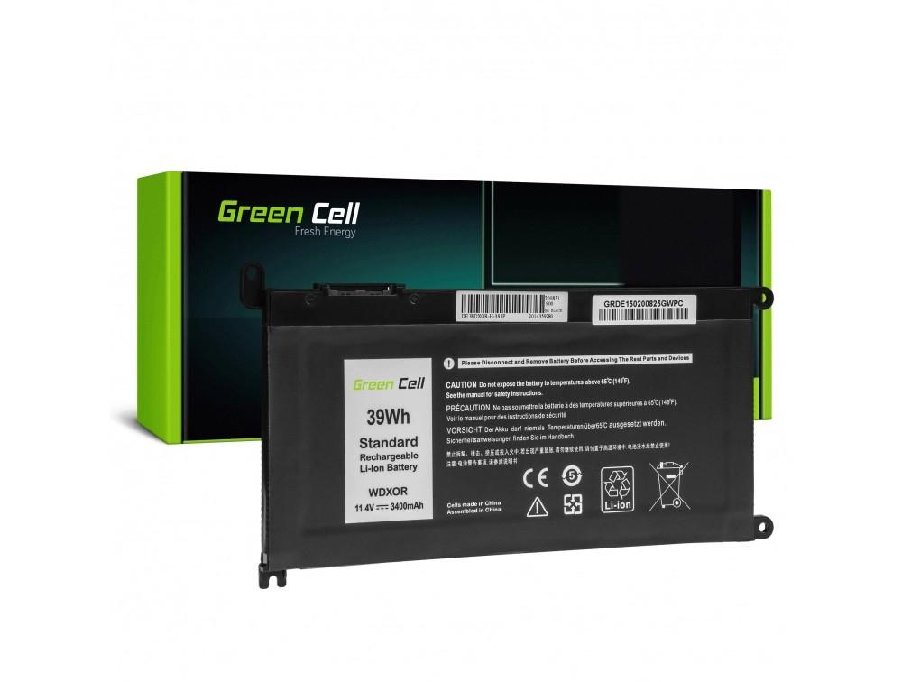 Baterija Green Cell WDX0R WDXOR za Dell Inspiron 13 5368 5378 5379 14 5482 15 5565 5567 5568 5570 5578 5579 7560 7570 17 5770