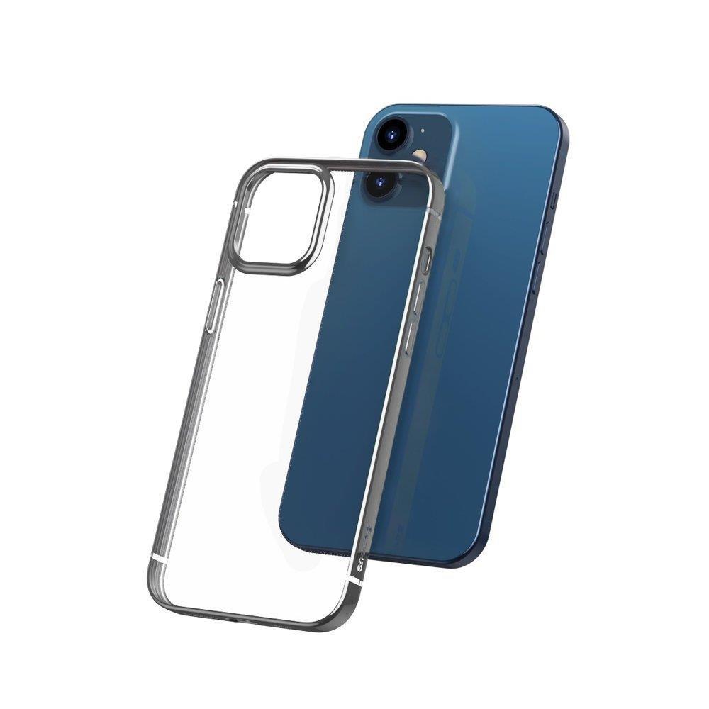Baseus Shining futrola za iPhone 12 Pro / iPhone 12 srebrna