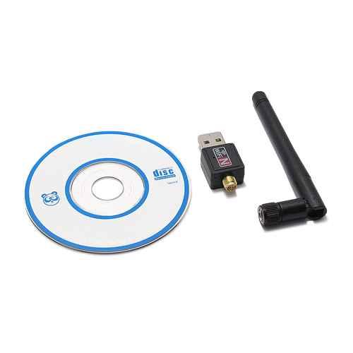 Adapter bezicni 802.11N 300Mbps + antena 2dBi