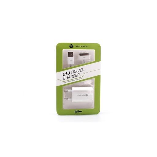 [3GC34721] Kucni punjac Teracell za iPhone 4 3u1 5V 1A beli