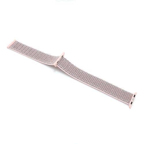 [MSM.R1336] Narukvica za Apple Watch 1-4 sat 42/44mm najlon roze (CN5) BIKSTON