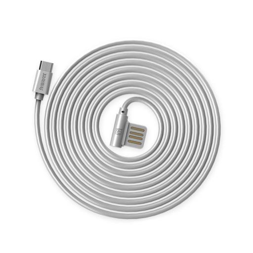 [3GC51884] Data kabl Remax Rayen RC-075m micro USB sivi 1m