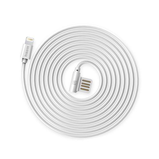 [3GC51886] Data kabl Remax Rayen RC-075i za iPhone 5/iPhone 6/6S beli 1m