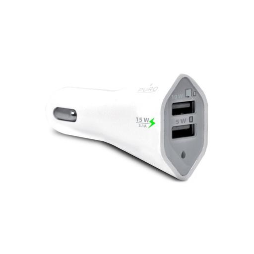 [A208] Puro USB auto punjač 3.1A
