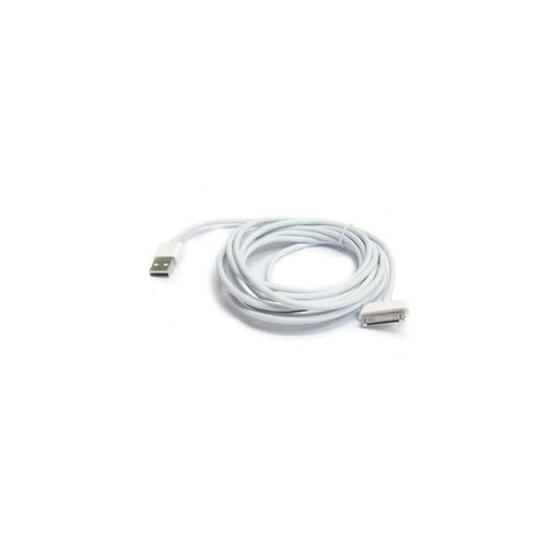 [MSU118] BWOO Lightning data kabal za iPhone 4 3m beli