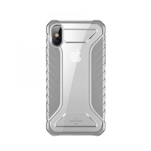 [3GC72842] Futrola Baseus Michelin za iPhone XS Max siva