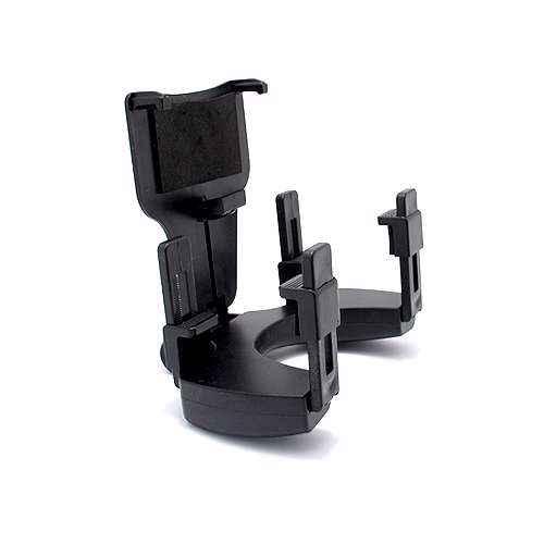 [MSMD484] Drzac za mobilni telefon JHD-97 view mirror crni (na retrovizor)