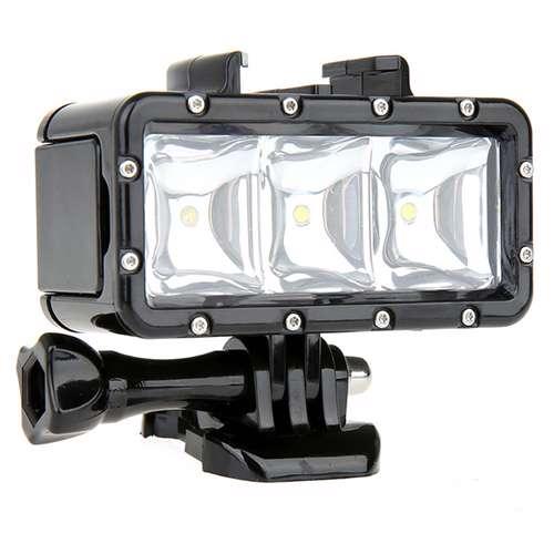 [MSMGO163D] Led lampa za ronjenje za GoPro Hero 4s/4/3+/3/2 model 3