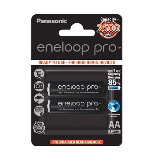 [MSM.BAT3705] Baterija NiMH punjiva Eneloop Pro 1.2V 2550mAh AA 2/1 blister  PANASONIC
