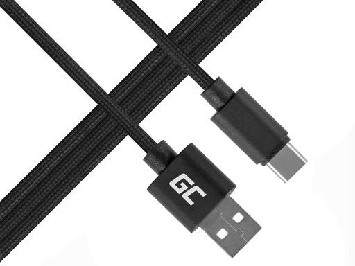 [GCL.KAB31C] Green Cell USB-C najlonski kabl od 1m