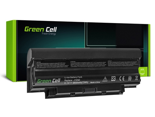 [GCL.DE02] Baterija Green Cell za Dell Inspiron N3010 N4010 N5010 13R 14R 15R J1KND / 11,1V 6600mAh