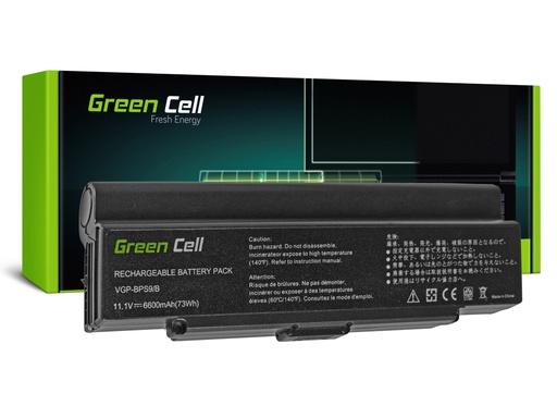[GCL.SY10] Baterija Green Cell za Sony Vaio VGN-AR570 CTO VGN-AR670 CTO VGN-AR770 (black) / 11,1V 6600mAh