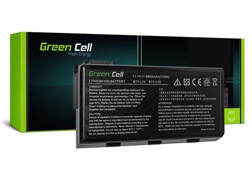 [GCL.MS02] Green Cell Baterija za MSI A6000 CR500 CR600 CR700 CKS500 CKS600 / 11,1V 6600mAh