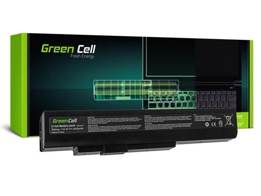 [GCL.MS04] Green Cell Baterija za MSI A6400 CR640 CKS640 MS-16I1 / 14,4V 4400mAh