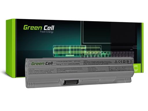 [GCL.MS07] Green Cell baterija za MSI CR650 CKS650 FKS600 GE60 GE70 (bela) / 11,1V 4400mAh