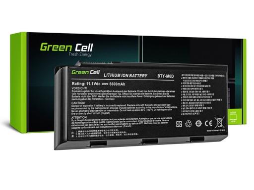 [GCL.MS10] Green Cell Baterija za MSI GT60 GT70 GT660 GT680 GT683 GT780 GT783 GKS660 GKS680 GKS780 / 11,1V 6600mAh