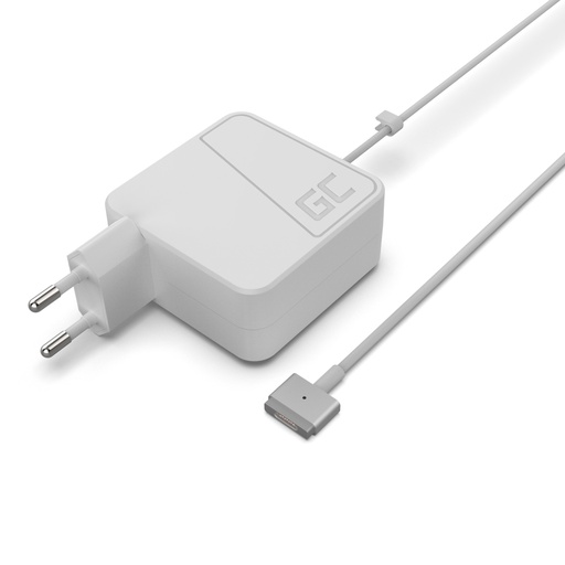 [GCL.AD48] Adapter naizmenične struje za ZELENE ĆELIJE za Apple Macbook 45V / 14.5V 3.1A / Magsafe 2