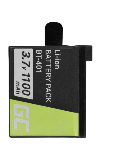 [GCL.CB24] ZELENA ĆELIJSKA baterija za GoPro HD Hero 4 AHDBT-401
