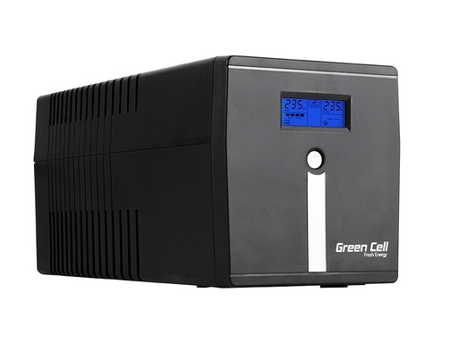 [GCL.UPS08] Green Cell ® UPS Microsine 1000VA LCD