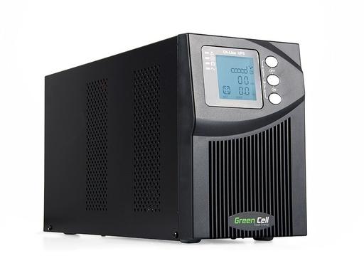 [GCL.UPS10] Green Cell ® UPS Online MPII 1000VA LCD