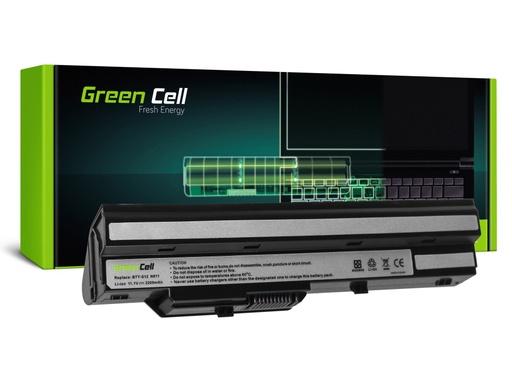 [GCL.MS13] Green Cell Baterija za MSI Vind U91 L2100 L2300 U210 U120 U115 U270 (crna) / 11,1V 2200mAh