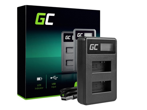 [GCL.ADCB18] Punjač AHBBP-301 Green Cell ® za AHDBT-201, AHDBT-301, GoPro HD Hero 3, GoPro HD Hero 3+