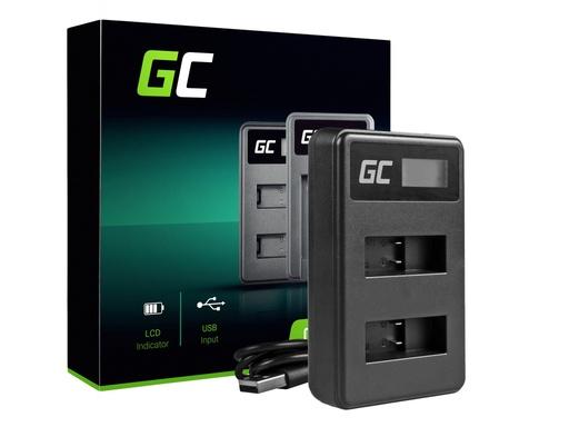 [GCL.ADCB20] Green Cell punjač AHBBP-501 za GoPro AHDBT-501, HD Hero5, HD Hero6