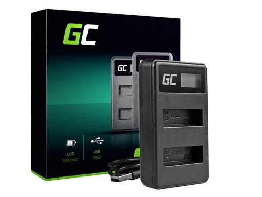 [GCL.ADCB19] ZELENI ĆELIJSKI punjač za baterije AHBBP-401 za GoPro AHDBT-401, HD Hero4
