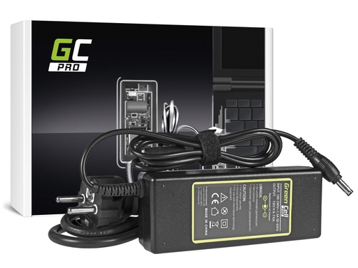 [GCL.AD21P] Green Cell PRO punjač / adapter za naizmeničnu struju za Samsung NP-P50 NP-P60 NP-M70 Pro R510 R530 R540 R580 RV511 19V 4.74A