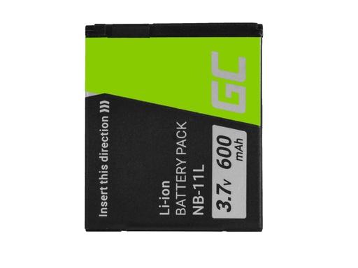 [GCL.CB65] Green Cell Baterija za digitalni fotoaparat za Canon PoverShot A2300 IS A2400 IS A3400 IS A3500 IS SKS400 SKS410 SKS420 IS 9 3.7V 600mAh