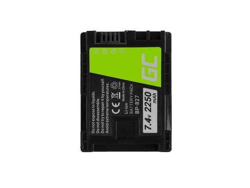 [GCL.CB66] Green Cell Baterija za digitalni fotoaparat za Canon VIKSIA HF G10 HF G20 HF M30 HF M3 HF M32 HF M40 HF M300 KSA10 7,4V 2250mAh