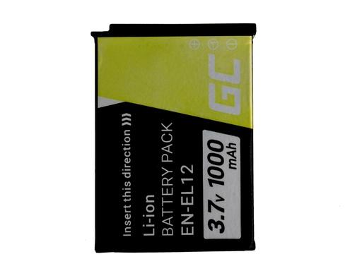 [GCL.CB67] Green Cell Baterija za digitalni fotoaparat za Nikon Coolpik AV100 AV110 AV120 S9500 S9300 S9200 S9100 S8200 S8100 S6300 3.7V 1000mAh