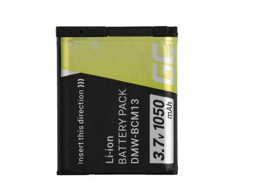 [GCL.CB70] Green Cell Baterija za digitalni fotoaparat za Panasonic Lumik DMC-FT5 DMC-TS5 DMC-TZ40 DMC-TZ60 DMC-ZS30 DMC-ZS40 DMC-ZS50 3.7V 1050mAh
