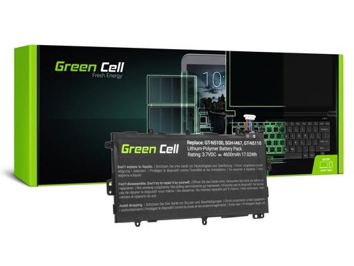 [GCL.TAB23] Green Cell Tabletna baterija SP3770E1H Samsung Galaki Note 8.0 GT-N5100 GT-N5110 GT-N5120
