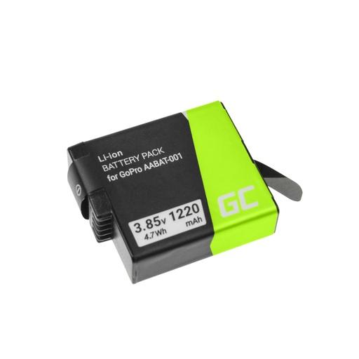 [GCL.CB74] Green Cell AHDBT-501 AABAT-001 Baterija za kameru za GoPro HD HERO5 HERO6 HERO7 Crna 3.85V 1220mAh