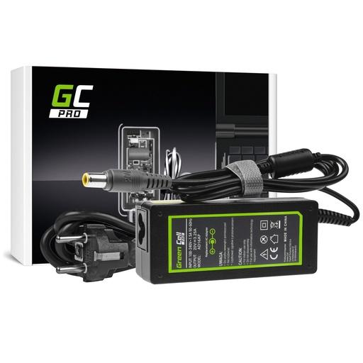 [GCL.AD16AP] AC adapter Green Cell PRO 20V 3.25A 65V za Lenovo B590 ThinkPad R61 R500 T430 T430s T510 T520 T530 Ks200 Ks201 Ks220 Ks230