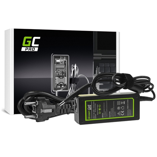 [GCL.AD42P] AC adapter Green Cell PRO 19.5V 3.33A 65V za HP Pavilion 15-B 15-B020EV 15-B020SV 15-B050SV 15-B110SV HP Envi 4 6
