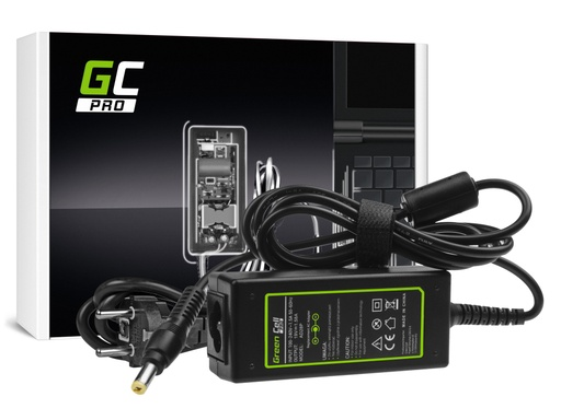 [GCL.AD28P] AC adapter za punjač Green Cell PRO za Acer Aspire One 521 522 531 751 752 753 756 A110 A150 D150 D250 19V 1,58A 30V
