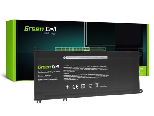 [GCL.DE138] Baterija Green Cell 33YDH za Dell Inspiron G3 3579 3779 G5 5587 G7 7588 7577 7773 7778 7779 7786 Latitude 3380 3480 3490 3590
