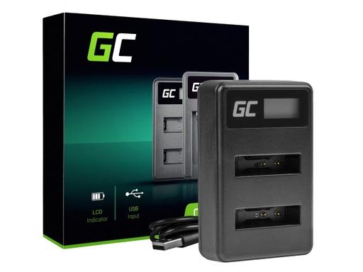 [GCL.ADCB44] Dvostruki punjač LI-50C Green Cell ® za Olimpus LI-50B, SZ-15 SZ-16 Tough 6000 8000 TG-810 TG-820 TG-830 TG-850 VR-370 KSZ-1