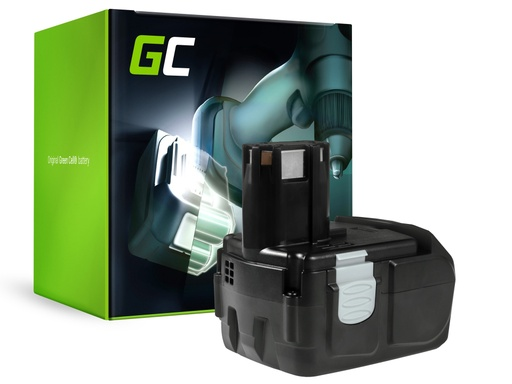 [GCL.PT109] Green Cell Power Tool Battery for Hitachi BCL1815 C18DL 18V 2Ah